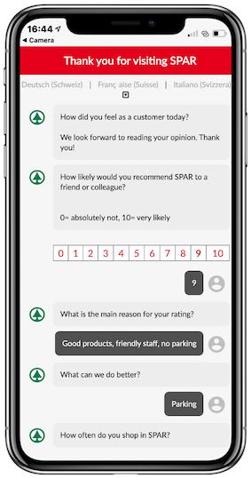 NPS Customer Satisfaction Monitoring via Chat Dialog