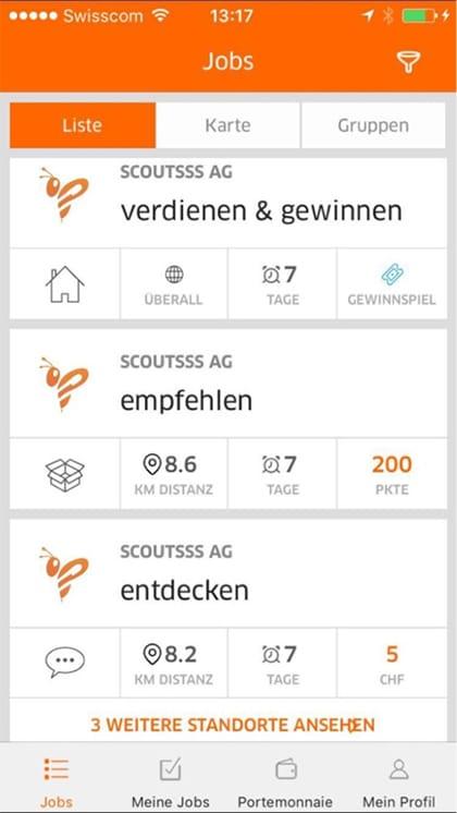 app jobs erledigen